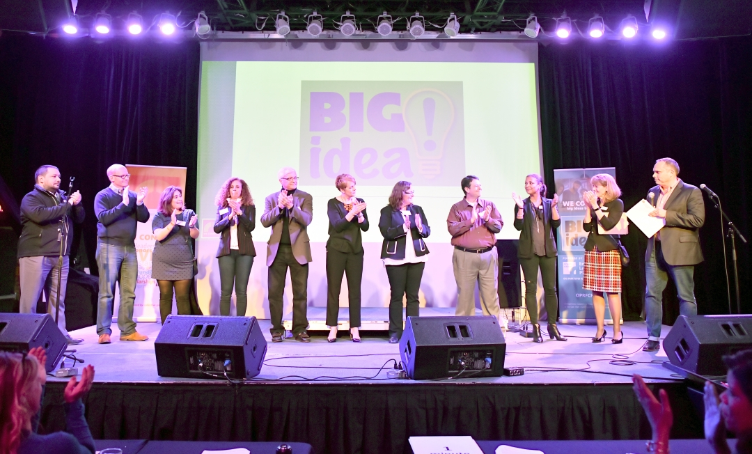 18 Big Idea Finalists onstage
